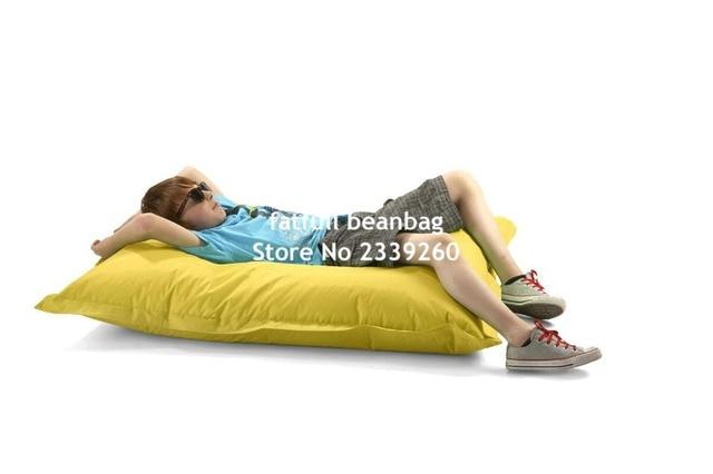 Cobrem apenas No Filler-Crianças do saco de feijão, ao ar livre cadeira beanbag Júnior