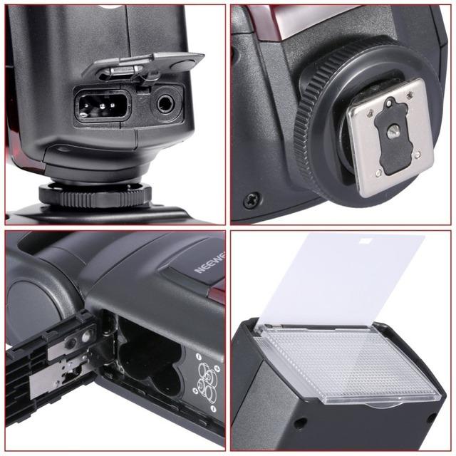 Neewer TT560 Flash Speedlite for Canon 6D/60D/700D/Nikon D7100/D90/D7000/D5300/All Cameras With Standard Hot Shoe+Softbox