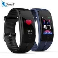 Smart Band Bracelet Sport Watch Smartband Heart Rate GPS Fitness Activity Blood Pressure Monitor Tracker Smart Wristband QS100