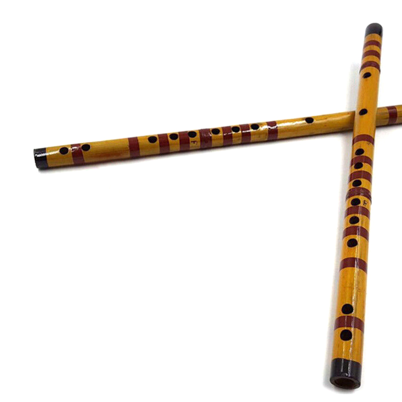 1 Pcs Professional Flute Bamboo Musical Instrument Handmade for Beginner Students FH99