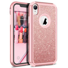 Роскошный Жесткий Чехол для iPhone XR X Xs Max 11 Pro max чехол с блестящими кристаллами PC чехол для iPhone 7 8 6 6s Plus чехол милый Капа