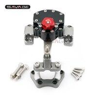 Reversed Safety Steering Damper For KTM 990 SMT 2009 2013 10 11 12 Motorcycle Adjustable Stabilizer with Mount Bracket