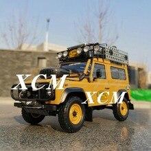 Diecast modelo de carro para quase real land rover defender 90 edição 1:18 + pequeno presente!!!!!