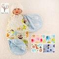 Karitree Новорожденный Пеленание Спальный Мешок для 0-6 Месяцев Ребенок В белее Детское Одеяло Пеленание