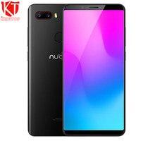 Original Nubia M3 Mobile Phone Snapdragon 660 Octa Core 6GB RAM 64GB ROM 5.7 inch 18MP Dual 24.0+5.0MP 3450mAh 4G SmartPhone