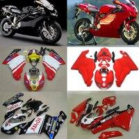 Plans à personnaliser Pour Ducati 999 749 2005-2006 moulage par injection Plastique ABS carénage Kit Carrosserie Moto