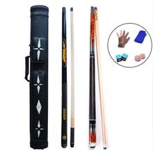 3142 PREOAIDR 8K4 Billiard Pool Cues 11.5mm 12.75mm 10mm Tip 8 Pieces Wood Laminated Shaft 8K+S2 Punch&Jump Cue+Case+Glove+Chalk