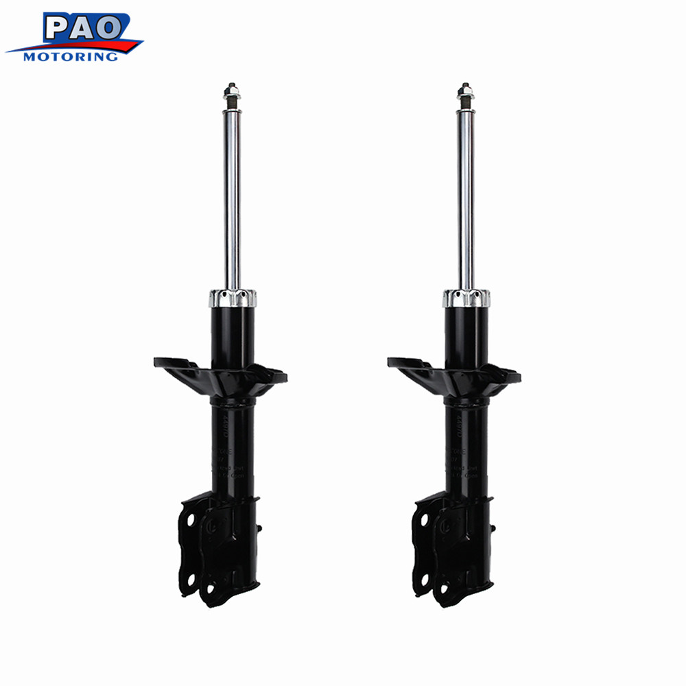 2PC New Front Strut Shock Absorber Left and Right Fit for 2002 2003 2004 2005 Mitsubishi Lancer ES OEM 72141 Car-styling auto new touch glass for mp 277 10 touch panel 6av6643 0cd01 1ax1 6av6 643 0cd01 1ax1 6av66430cd011ax1 mp277 10 panel freeship page 7