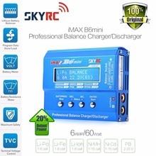 Skyrc Imax B6 мини баланс зарядное устройство разрядник для радиоуправляемого вертолета повторно пиковое Nimh/nicd Lcd умное зарядное устройство