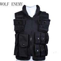 600D Nylon Protective Equipment Tactical Vest Cool Men Hunting Vest Training Military Army Swat Vests Outdoor Men Waistcoat