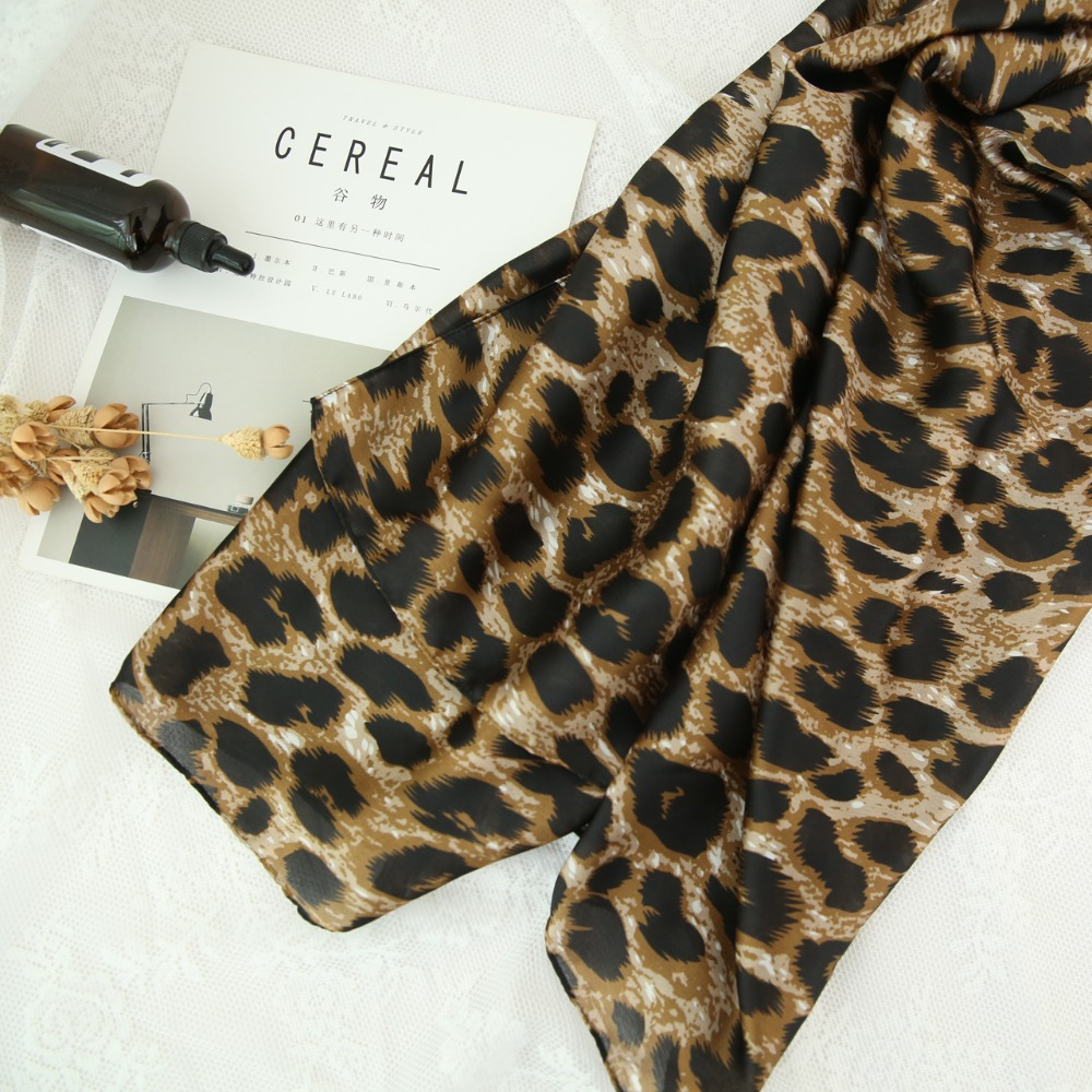 2018 New Fashion Leopard Print Scarves And Shawls Leopard Scarf Muffler Wraps Hijab Free Shipping