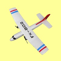 Hot Sell New Aircraft Model Toy FX 802 2 4G 2CH Hand THROWING Plane Glider Aerodone