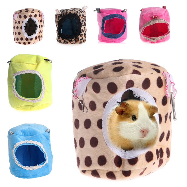 2017 Ferret Hamster Rabbit Rat Parrot Squirrel Hanging Bed Hammock House Cage Toy New apr3_20