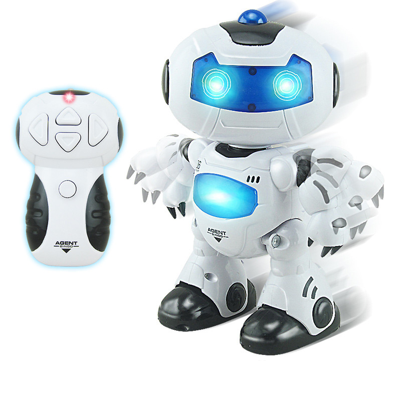 BOHS Toy RC Robots Walking and English Speaking