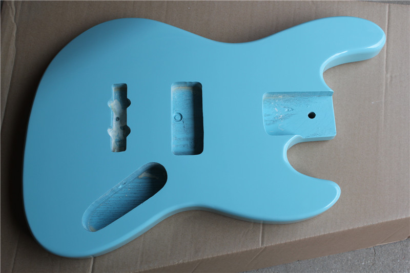 factory custom sky blue body 4 5 strings electric bass guitar body with ash basswood body can be. Black Bedroom Furniture Sets. Home Design Ideas
