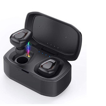 Waterproof Bluetooth Headset Sports Wireless Earphones 3DStereo Noise Cancellation Earbuds Mini InEar  Mic With Charging Box Eh* wireless business affairs bluetooth earphones pleasant 180 degree rotating stereo music headset noise cancellation earbuds eh