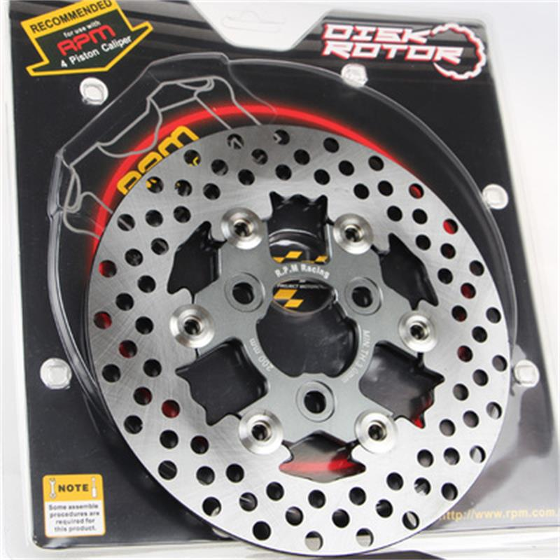 Universal RPM CNC motorcycle brake disc 200mm adapter bracket for yamaha Honda KTM BWS RSZ dio JOG Force Cygn Aerox Force keoghs motorcycle brake disc floating 200mm disc cnc aluminum alloy stainless steel for yamaha rsz jog force scooter modified