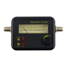Plastic Black Mini Digital LCD Display Satellite Signal Finder Meter Tester With Excellent Sensitivity Satellite TV Receiver