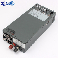 DIANQI Switching power supply 1200W 72V 13.5V 24V 90V 36V POWER SUPPLY for LED Strip light AC to DC power suply input 110v 220v