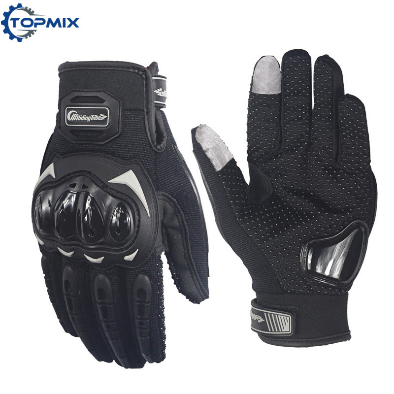 Screen Touch Motorcycle Gloves Black