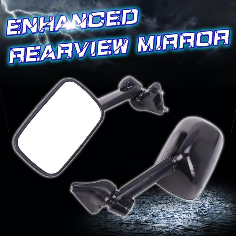 Rétroviseurs rétroviseur inversé pour Kawasaki ZZR400 ZZR1100 ZZR1000 ZZR 400 accessoires moto