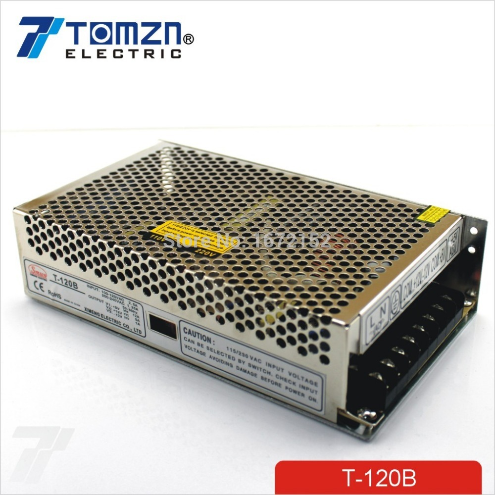 120W B Triple output 5V 12V -12V Switching power supply smps AC to DC 30w triple output 5v 24v 12v switching power supply smps ac to dc