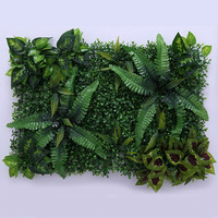 Artificial Plant Lawn DIY Background Wall Simulation Grass Leaf Wedding Home Decoration Green Greenery Wholesale Carpet Turf