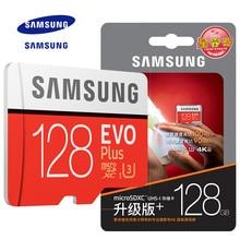 Новый оригинальный продукт Samsung EVO памяти Micro SD карты памяти 32 ГБ 64GB128GB Class10 U3 4 К HD Скорость чтения до 100 МБ/с. (модель 2017)