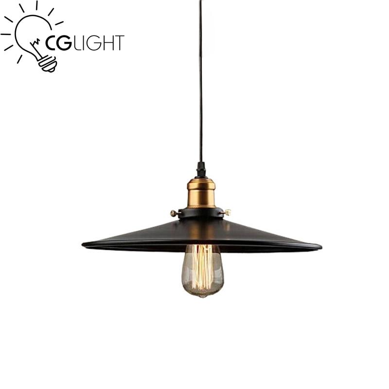 E27 Edison bulbs Vintage Industrial Retro Pendant Lamp loft light for Restaurant Bar Counter Attic Bookstore Lamp