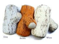 Peluş oyuncak hediye yastık moda yumuşak ağaç güdük ahşap yastık promosyon 2014 yaratıcı yastıklar