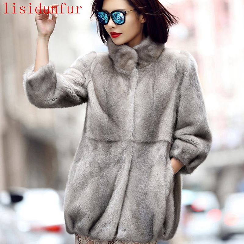 Online Buy Wholesale grey mink coat from China grey mink coat ...