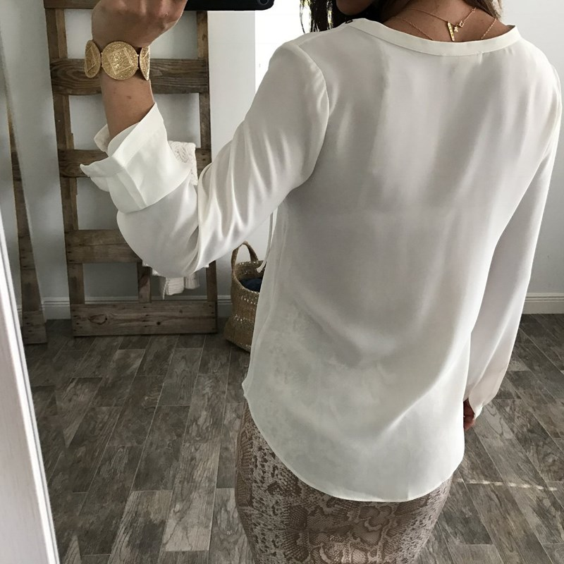 Celmia Womens Summer Blouse 2019 Chiffon Blouse Sexy Top Lace Up V Neck Ruffle Long Sleeve Shirt Casual Plus Size Blusa Feminina