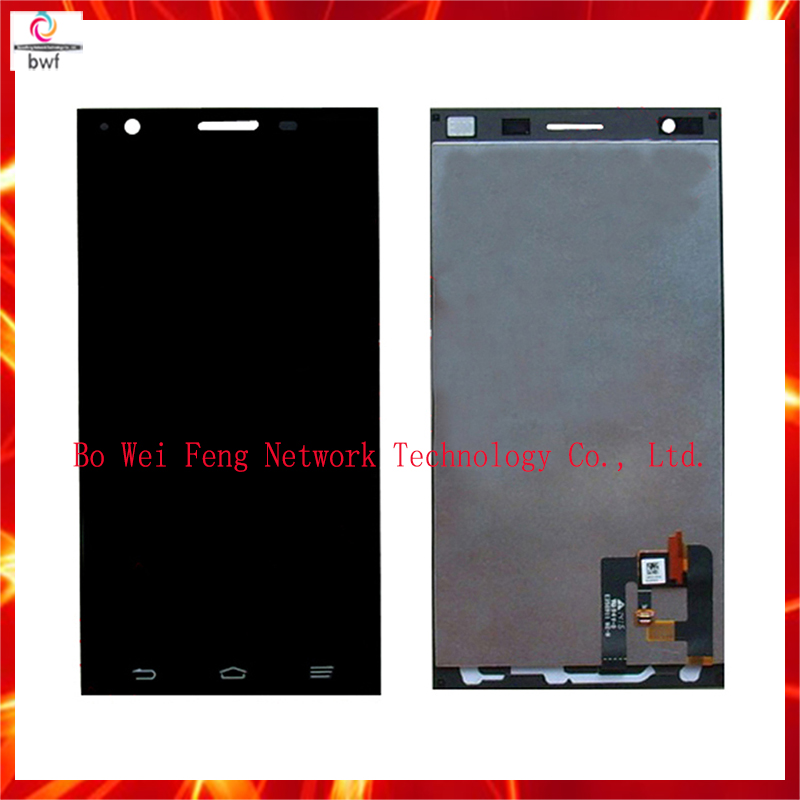 High Quality Black LCD Display + digitizer touch Screen FOR ZTE star 1 s2002 Assemblely 5.0Free Shipping+Tracking high quality black silver lcd display