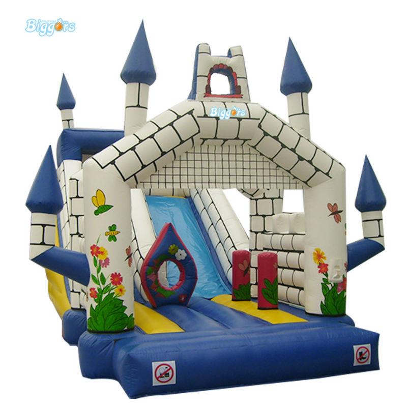 Inflatable Biggors Castle Style Inflatable font b Bouncer b font Slide Rental For Kids