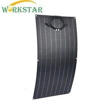 ETFE Flexible Solar Panels 18V 100w Solar Module Charger for RV/Boat 100w Solar Power System for Beginner 12V Solar Charger