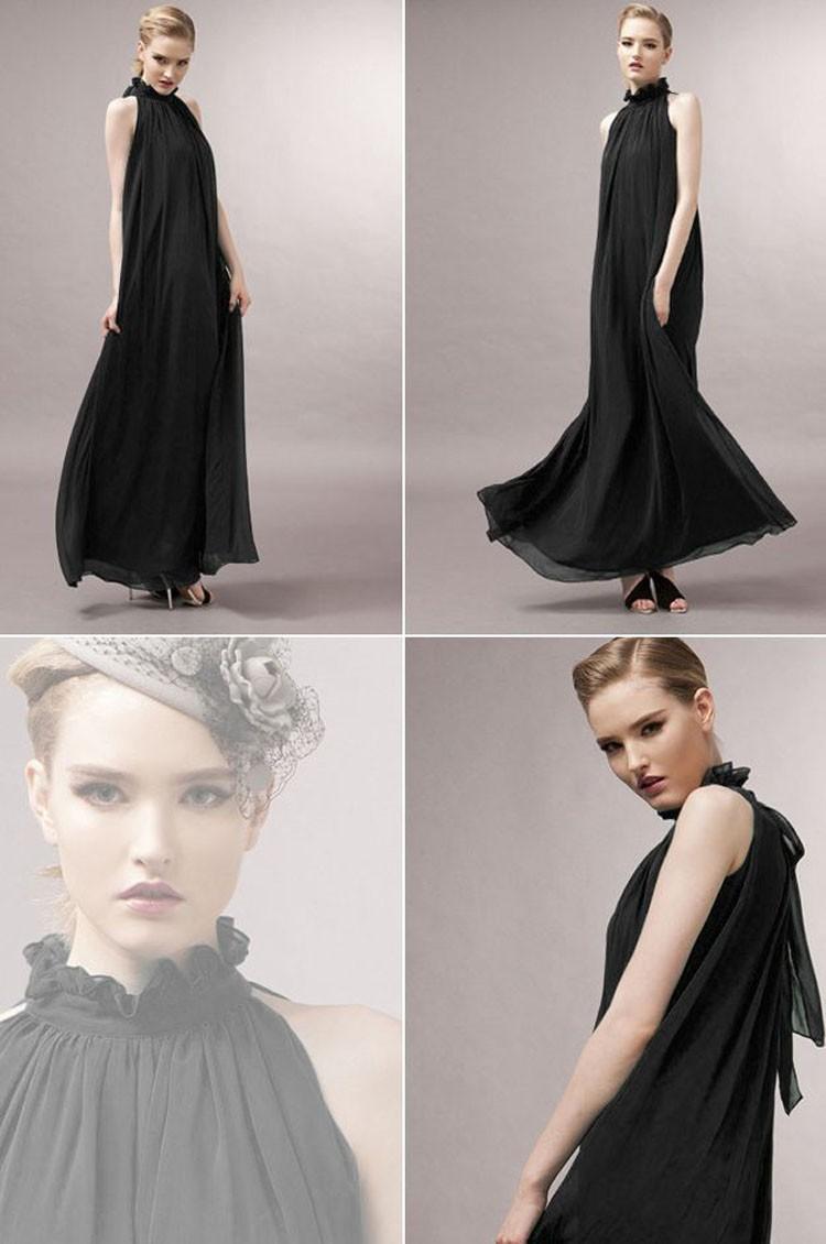 Women Summer Bohemian Style Long Chiffon Dress Ladies Clothes Pregnant Maternity Dresses Maternidade Pregnancy Clothing 3
