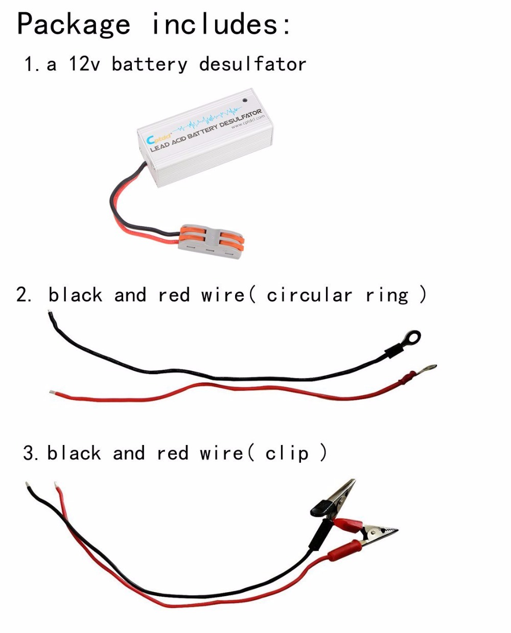 medium resolution of 12 volts lead acid battery desulfator battery maintainer for cars motorcycles atv boat rv in chargers from consumer electronics on aliexpress com