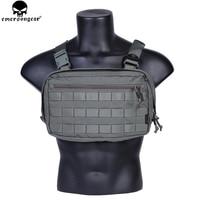 EMERSONGEAR Chest Recon Bag Tool Pouch Combat Tactical Vest Pouch Bag EDC Chest Bag Multicam FG EM9285