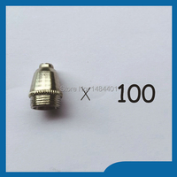 Plasma TIPs Nozzles 40 60Amp Fit SG 55 AG 60 Plasma Cutter Cutting Torch Consumables 100PK