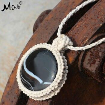 e1b64d9c60d8 Botswana carnelian colgante moda hecha a mano étnica Boho joyería tibetana COLLAR  COLGANTE collares Collares para