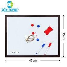 Xindi белая доска 35*45 см 10 цветов Новые магнитные доски для