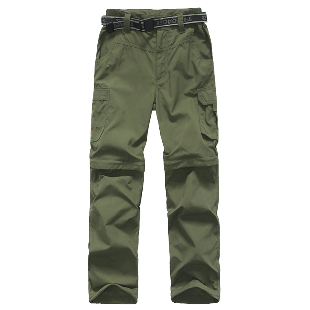 Kids Monolayer Can Be Split Sports Hiking Super Stretch Trousers Youths Quick Drying Fishing Climbing Outdoor Pants