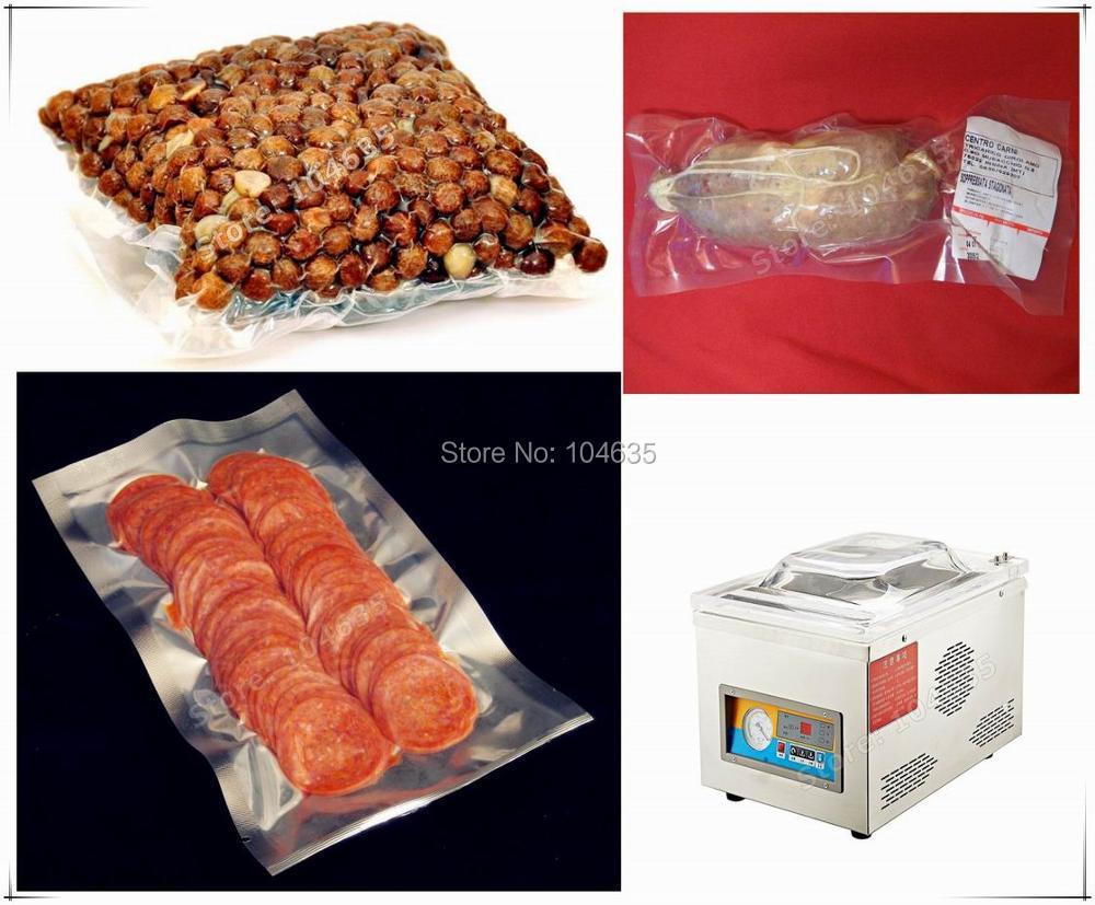 Automatic Desktop Vacuum Sealer Vacuum Sealing Machine Vacuum packing machine for food DZ260 (220V/50HZ) free shipping desktop vacuum packing machine for plastic bag food sealing macine