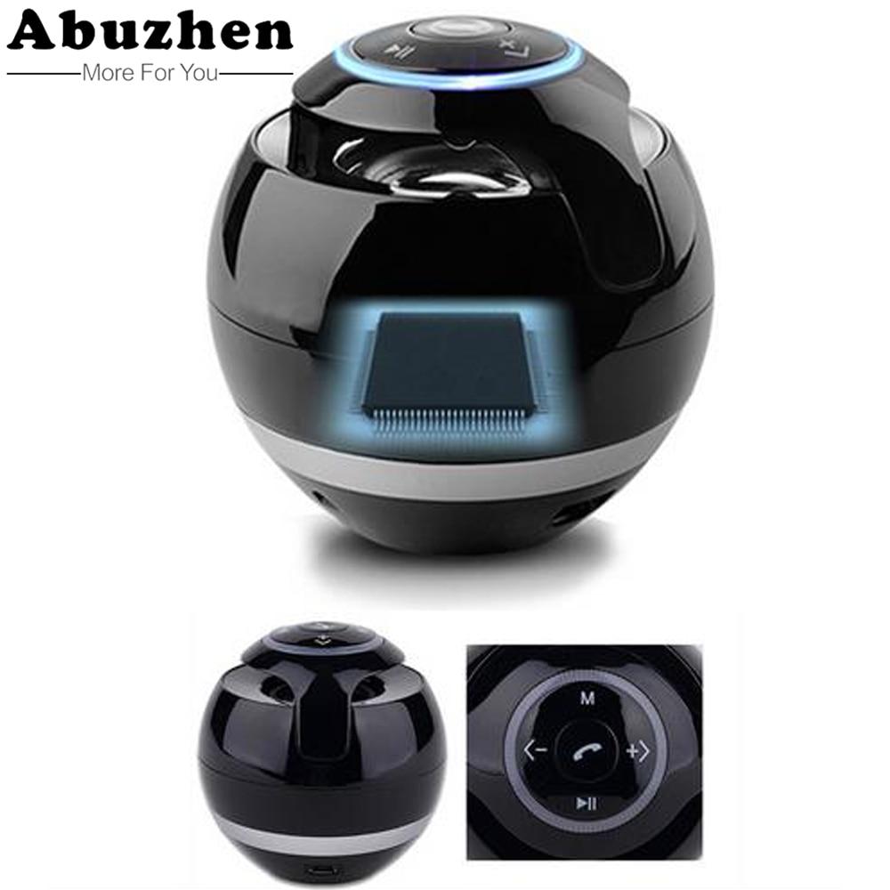 A Bluetooth Speaker Mini Portable Wireless Speaker Soundbar Bass Boombox Soundbox with Mic TF Card FM Radio LED Light