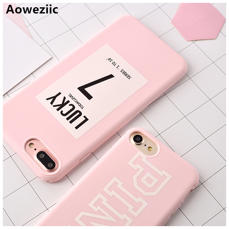 Aoweziic Candy Color Luxury Soft TPU Rubber Cover For iPhone X 8 6 6S Plus 7 Plus Case Silicone For iPhone 6S XR XS MAX Case in Fitted Cases from Cellphones Telecommunications