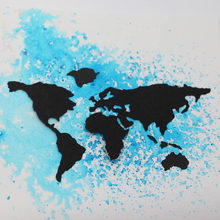 JC Metal Cutting Dies for Scrapbooking Craft Stencil World Map Plate Outline Handmade Paper Card Making Model Decoration 2019