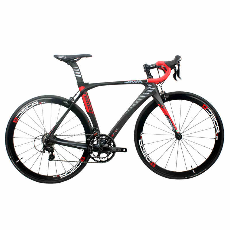 2017 JAVA Feroce Carbon 700C Road Bike With S H I M A N O 105 5800 Shifter Tek tro Brake Aluminium Wheels 22speed Capiler Brake c s i сериал купить