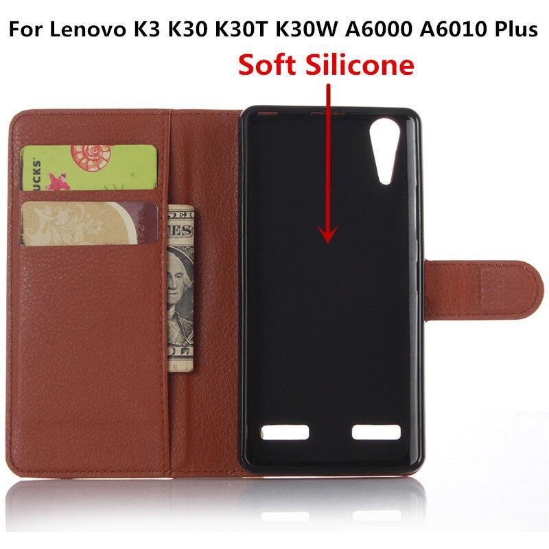 Dla lenovo a6010 a6000 capa luxury leather wallet odwróć case dla lenovo a 6010 a6010 plus a6000 plus pokrywa z czytnikiem kart stojak 1