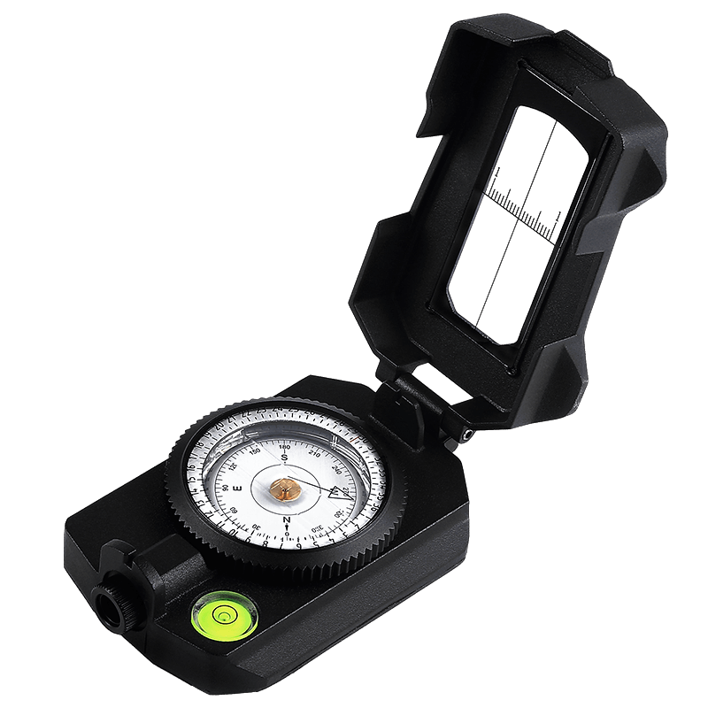 Eyeskey Professional Metal Compass Handheld Lightweight Hunting Camping Geological Pocket Multifunctional Digital Compass