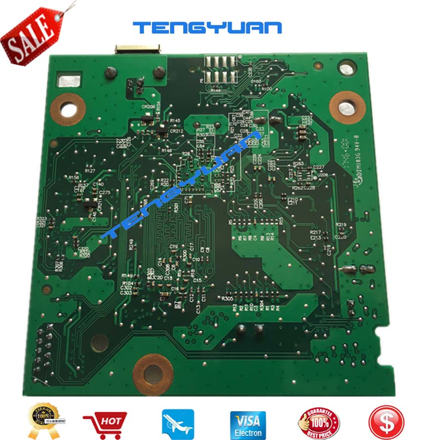 Image 3 - LaserJet CZ172 60001 NEW original Formatter Board Logic mainboard For HP LaserJet Pro M125a M126/126A M125A MFP in Printer parts-in Printer Parts from Computer & Office